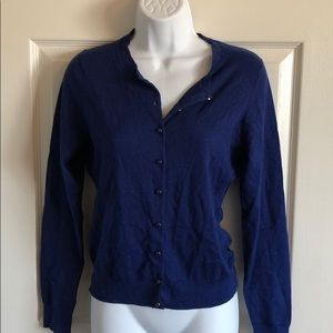 Banana Republic silk blend cardigan